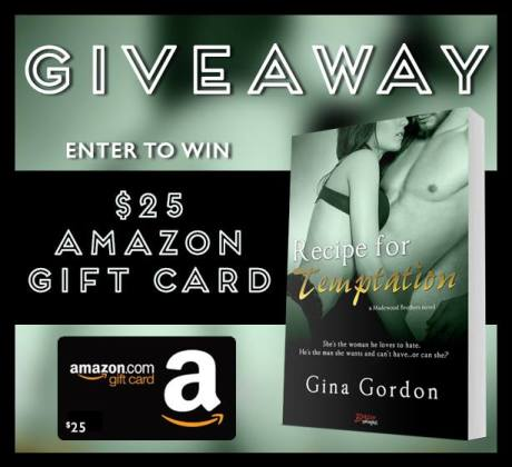 Recipe for Temptation Giveaway Graphic