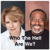 Author duo launches new podcast (Who the Hell Are We)