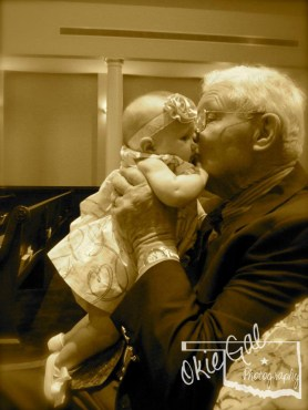 Great-Grandpa kisses are the greatest