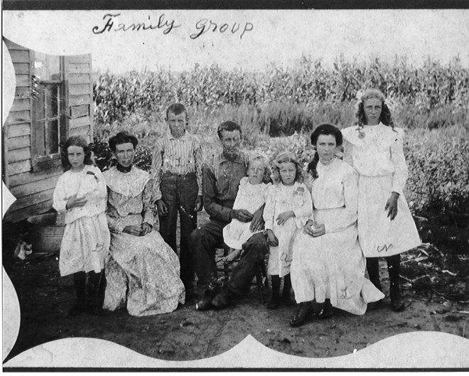 Peery BF - Peery (Arbogast) Mary and children