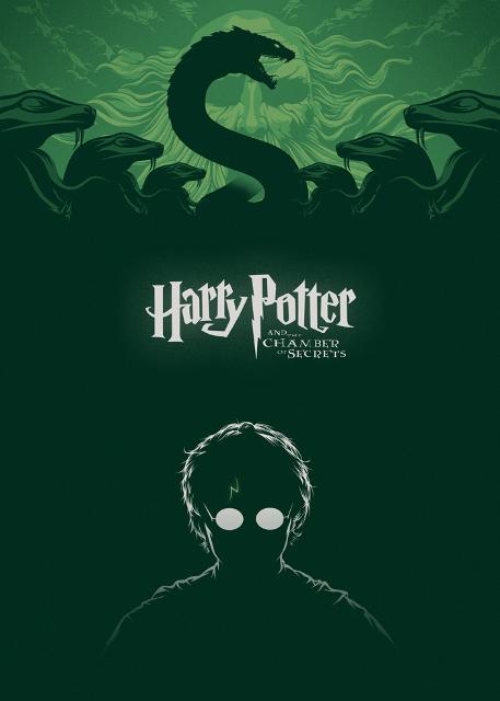 alternatywne plakaty filmowe harry potter