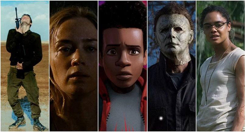 ranking najlepszych filmów 2018 roku