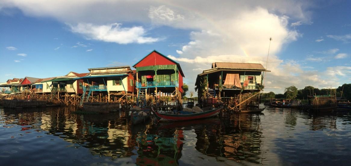 Kampong Phluk - panorama