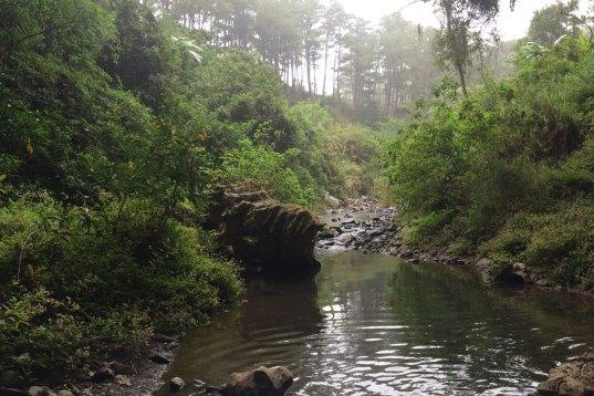 Sagada, droga do podziemnej rzeki