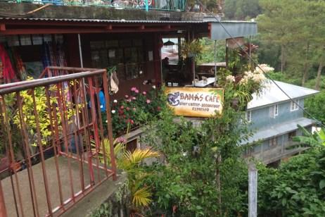 Sagada, miasto, moja kawiarnia w sam raz na kawę i napisanie co w duszy gra