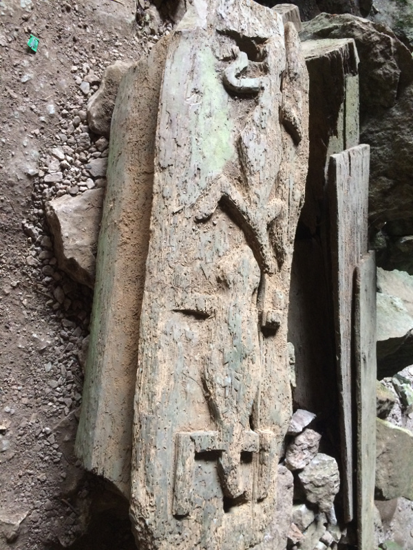 Sagada, lumiang Cave, trumny