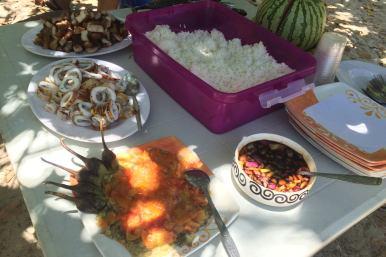 Lunch, Snake Island, Palawan