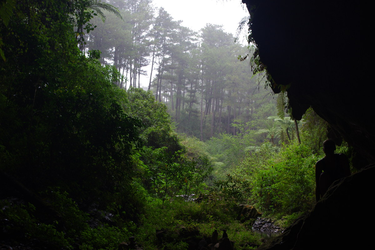 Sagada, podziemna rzeka, wyjście
