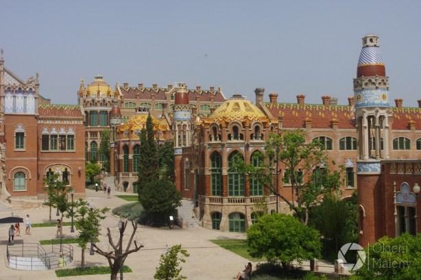 Barcelona, szpital św. Pawła