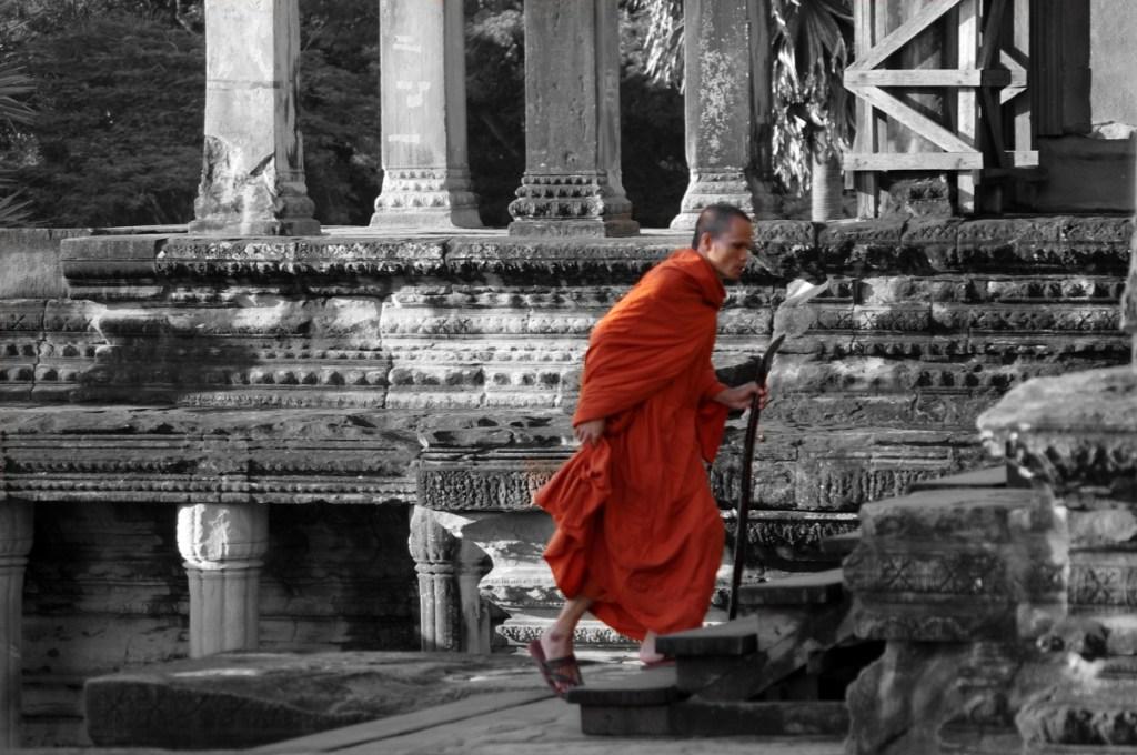 moje marzenie - zdjęcie buddyjskiego mnicha