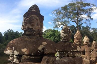Angkor Thom – brama południowa