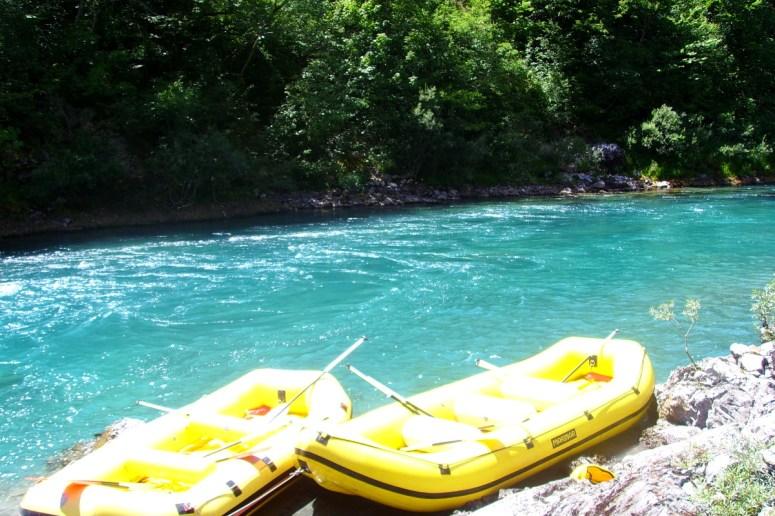 rafting rzeką Komarnicą
