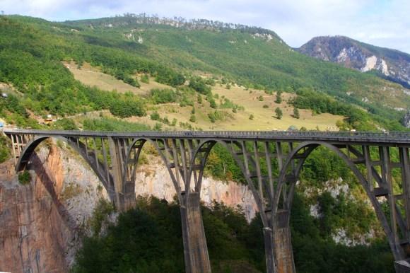 most na rzece Tarze, Park Narodowy Durmitor