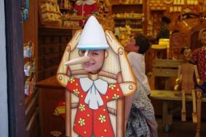 Pinokio, Florencja
