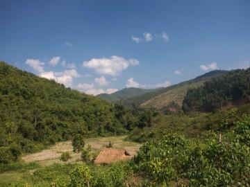 Laos, treking, obszar chroniony Nam Ha