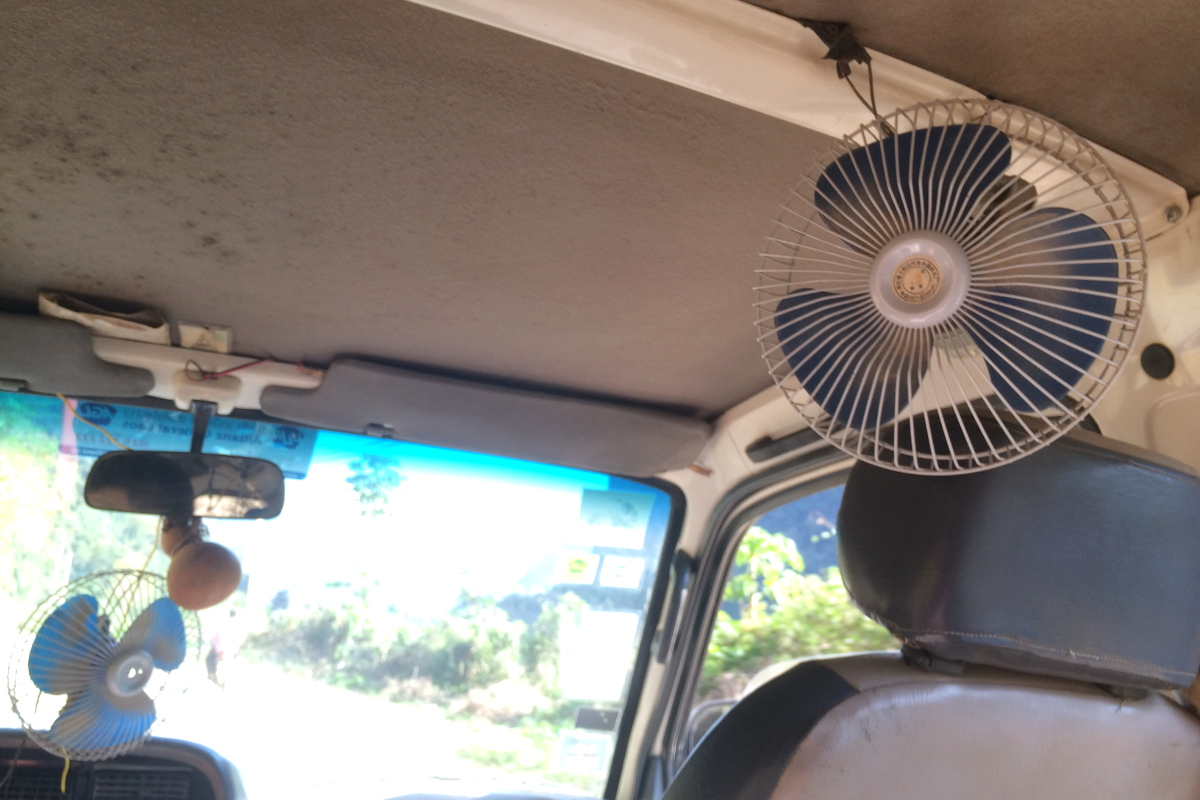 klimatyzacja w Mini Vanie :)