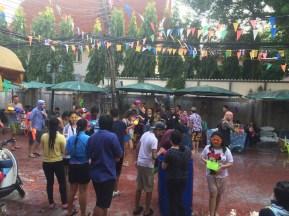 Songkran Festiwal, Bangkok