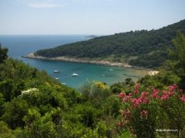 Lopud, droga do plazy Sunj