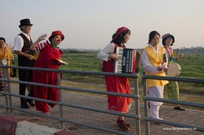 promenada nad Mekongiem