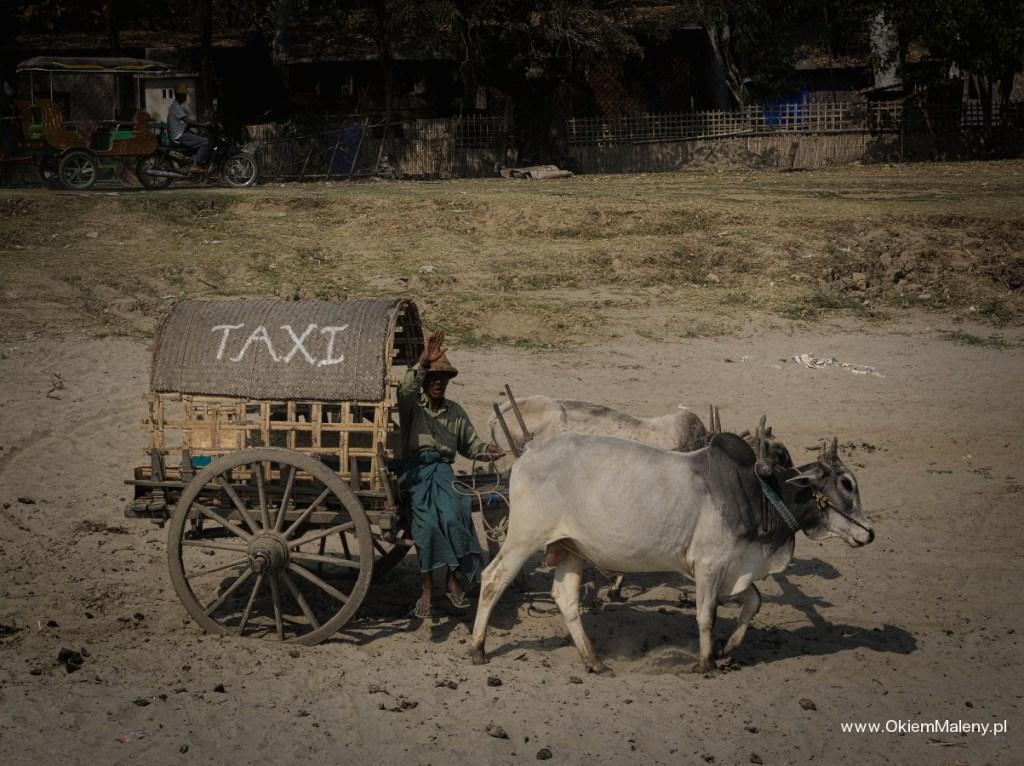 taxi, Mingun, Birma