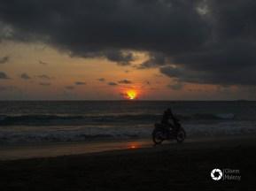 Ngwe Saung, magiczne zachody Słońca, Birma