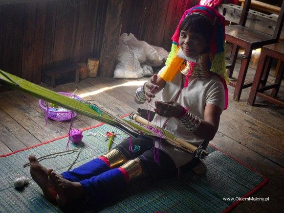 przedstawicielka grupy etnicznej Karen, Birma