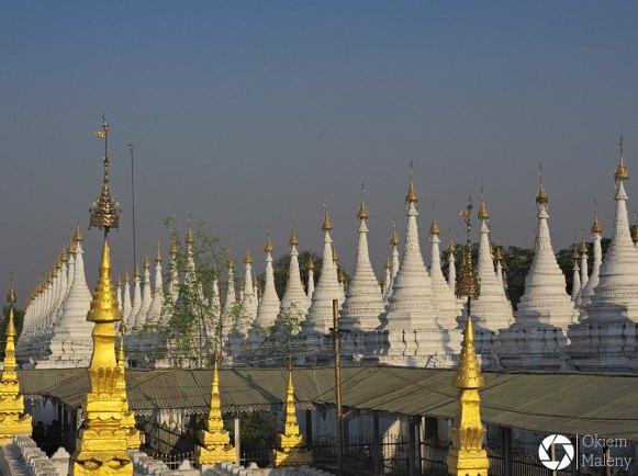 Mandalaj Okiem Maleny Birma Kuthodow Paya i Sandaminu paya