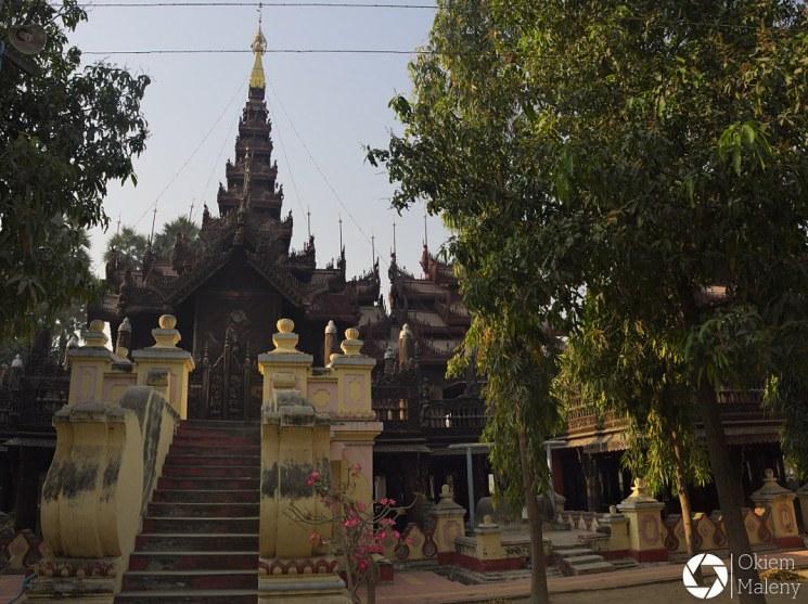 Mandalaj Okiem Maleny Birma Kyaung Shwe In Bin 2
