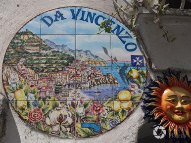 kolejna cudna ceramika w Amalfi