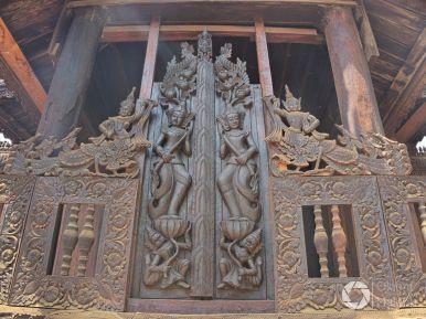 klasztorNat Taung Kyaung, Bagan, Birma