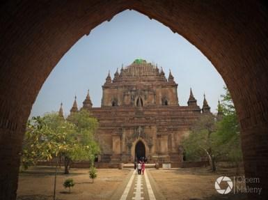 Bagan, świątynia Sulamani z XII wieku