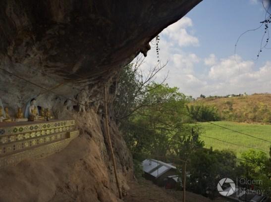 Htet Eain Gu Cave - Birma Nyaung Shwe