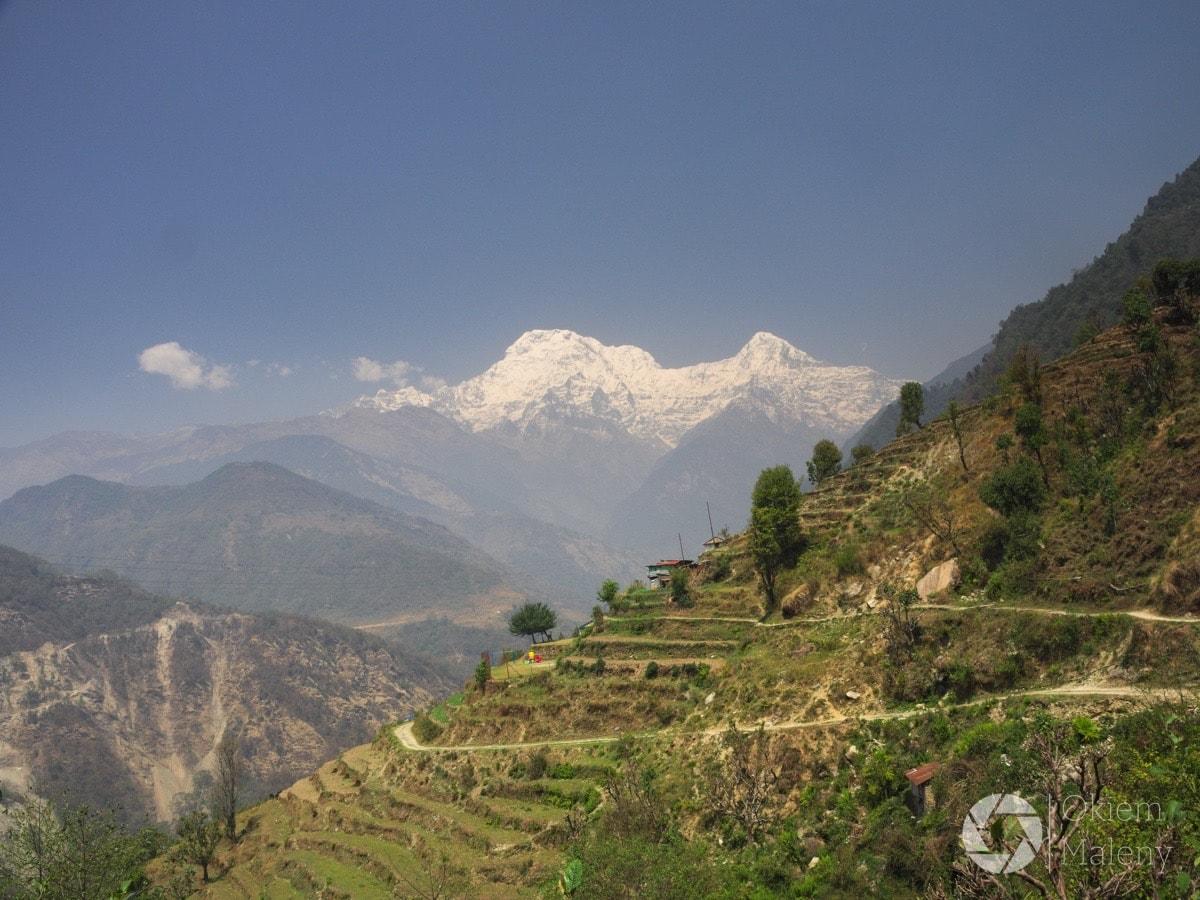 w drodze z Jhinu do Tolka, Nepal