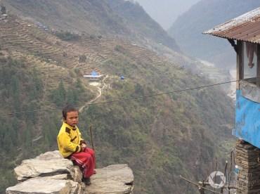 treking w Nepalu do Annapurna Base Camp