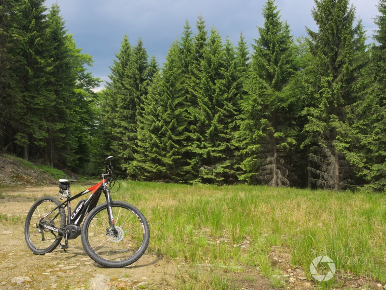 rowerem przez góry izerskie