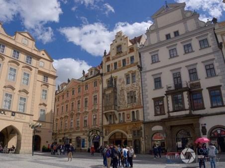 Praga, rynek staromiejski