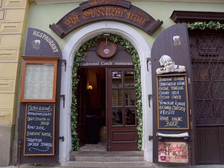 Praga restauracje