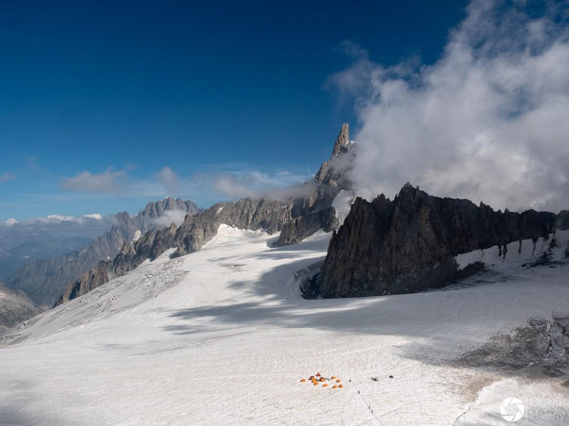 lodowiec i dente del gigante, punta helbroner