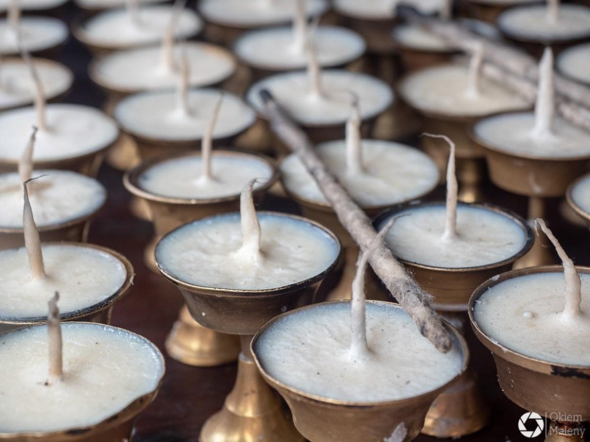 świeczki Nepal