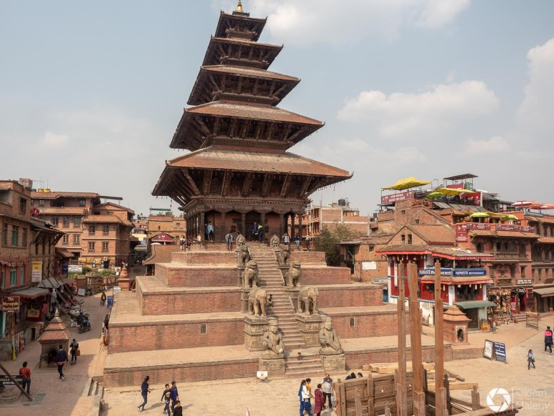 Bhaktapur najwyższa świąyynia