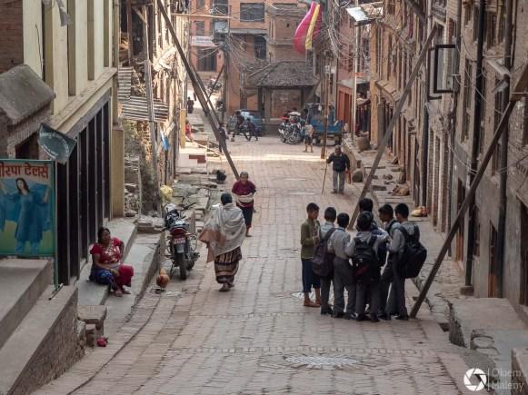nepalscy uczniowie