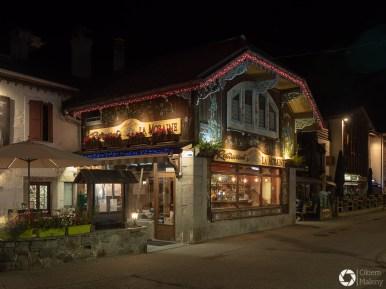 urocze domki w Chamonix