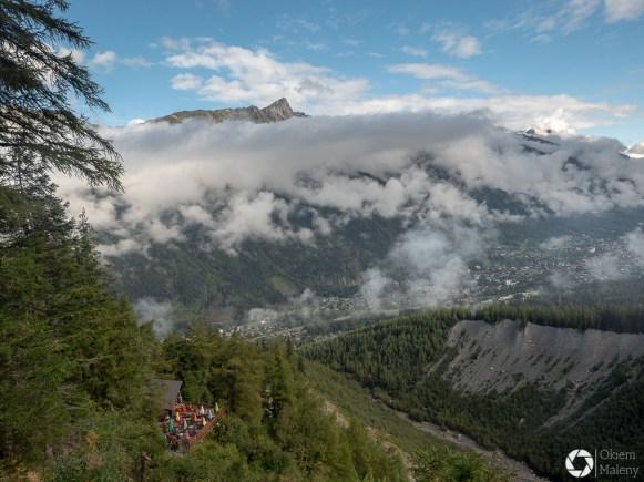 Dolina Chamonix i schronisko