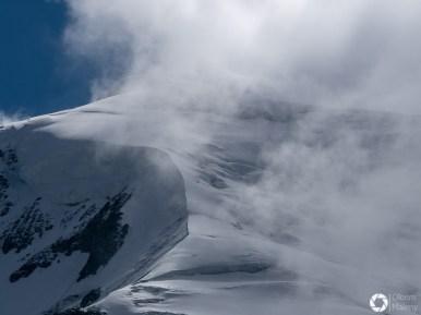 Chamonix widok na Mont Blanc