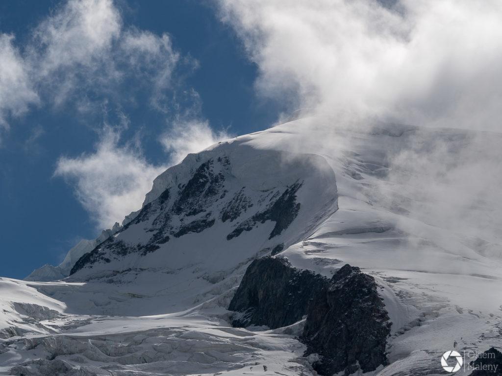 Mont Blanc widziana z La Jonction