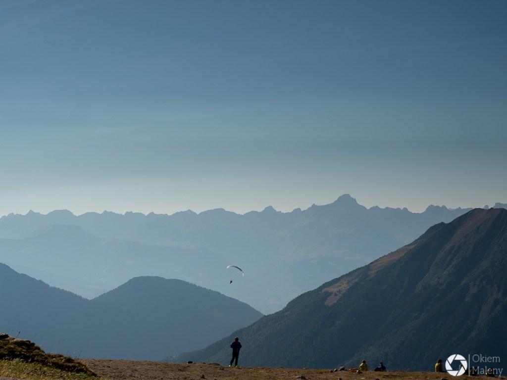 panorama Alp z Plan d'Aiguille