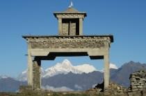 Świątynia na Pangsang Pass