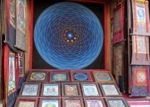 Sklepiki z Mandalami na Boudha