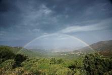 Korsyka żegna nas deszczem