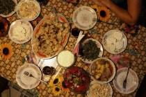 Gruzińska kolacja